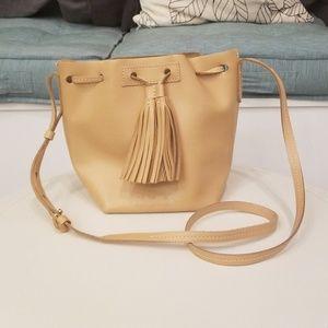 JCrew Tassel Bucket Bag